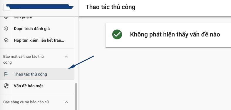 tac vu thu cong google