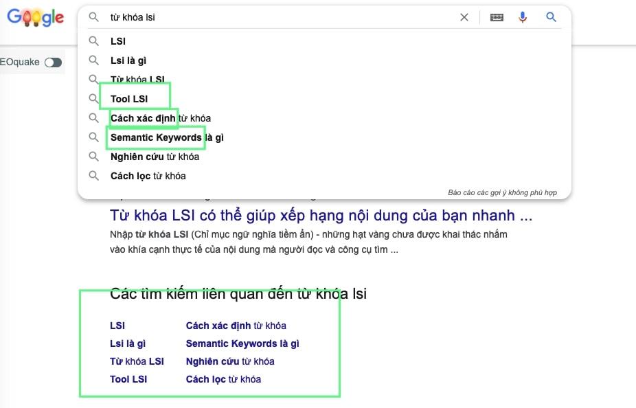 lsi tren google